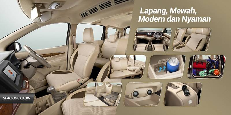 Interior All New Suzuki Ertiga